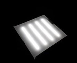Светодиодный встраиваемый светильник СД-06-60(Грильято) - фото 3812