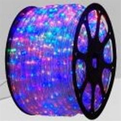 Дюралайт круглый чейзинг LED-XD-5W-100-220V-RGBY Сверхъяркий! Мульти - фото 5286