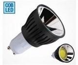 Светодиодная лампа  GU 10 COB LED GU105WH6400