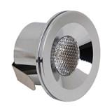HL666L 3W Хром 2700К 220-240V Встр. cветодиодный св-к 100шт