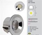 HL666L 3W Матхром 2700К 220-240V Встр. cветодиодный св-к 100шт