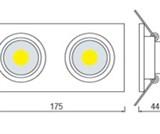 HL6702L 2*5W Белый 2700К 220-240V COB LED 20шт NEW!!!