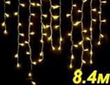 БАХРОМА СВЕТОДИОДНАЯ LED-SKI-8.4M/0.8-220V-Y