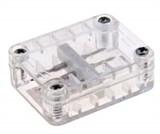 Промежуточный коннектор для LED-XF-2W (плоского двух проводного дюралайта фиксинга) (арт.30)