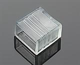 Заглушка для  плоского дюралайта ZAGL-K(NF)   11х18mm (арт.69)