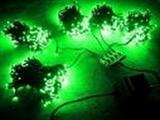 Гирлянда светодиодная LED-SP-20х5-24V-220V-G