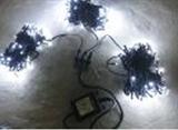 Гирлянда светодиодная LED-BW-20х5-24V-220V-W-C