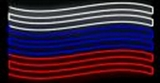 """Баннер светодиодный  """"ФЛАГ СРЕДНИЙ""""  LED-SKF-FLAG-MID"""